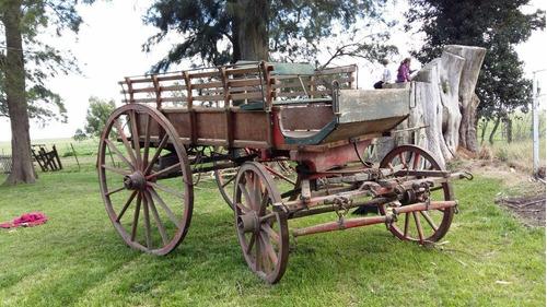 carro de caballos reconstruido a nuevo !! oportunidad