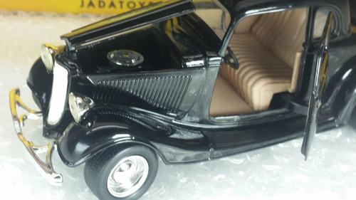 carro de coleccion 1934 ford cuope escala 1/24