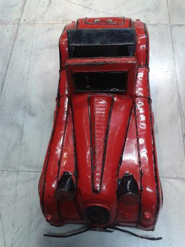 carro de colección en hojalata antiguo