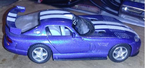 carro de coleccion escala 1:18 dodge viper gts
