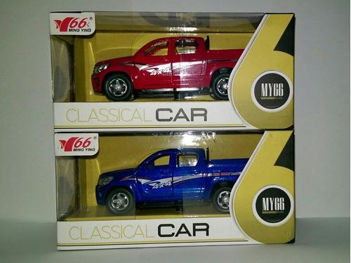 carro de coleccion - escala 1/32 - modelo: hilux o d-max