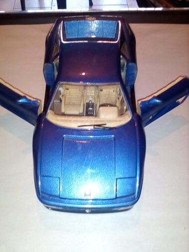 carro de coleccion ferrari 348 tb (1989) burago