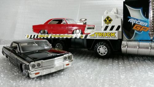 carro de coleccion impala jada  escala 1/24