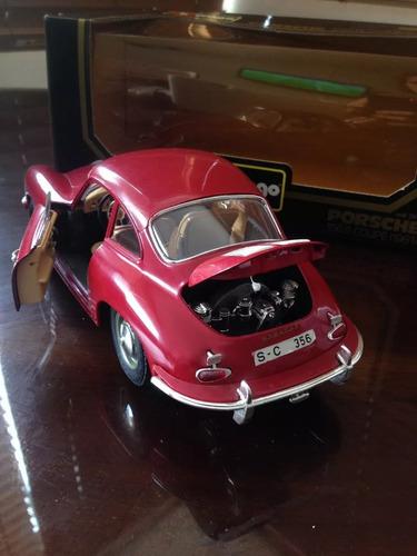 carro de colección porche 356 coupe (1961) burago 1/18
