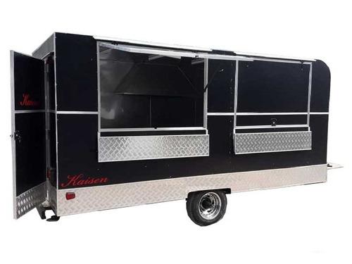 carro de comida rodante foodtruck kaisen a estrenar en stock