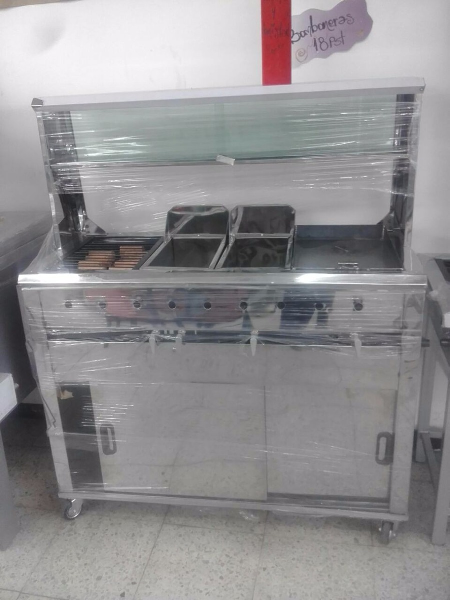 Carro de comidas rapidas en mercado libre for Estufas industriales usadas bogota