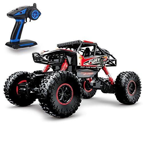 carro de control remoto geekper  rc monster