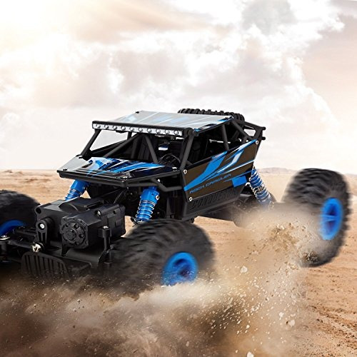carro de control remoto rc 4wd todo terreno monster