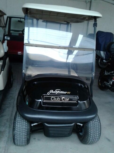 carro de golf club car jack nicklaus 2015 negro bonito !