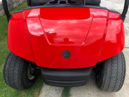 carro de golf eléctrico yamaha rojo ferrari 2012
