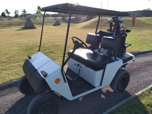 carro de golf ezgo vintage gasolina
