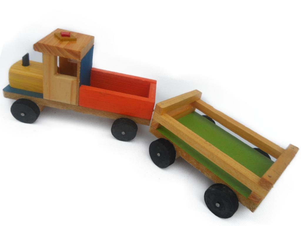 Carro de madera colecci n ni os o solo juguete artesan a for Carritos de cocina de madera