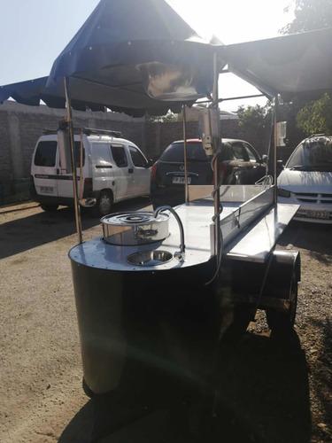 carro de mote con huesillo y jugos