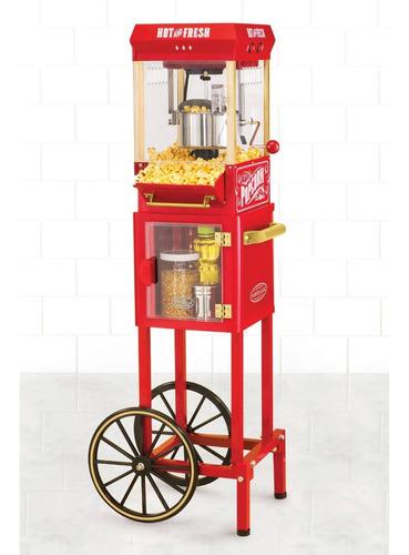 carro de palomitas de maíz nostalgia electrics kpm200cart