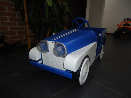 carro de pedales pietro berto italiano antiguo
