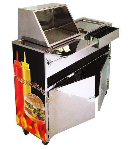 carro de perro calientes carro de hamburguesa (fabrica)