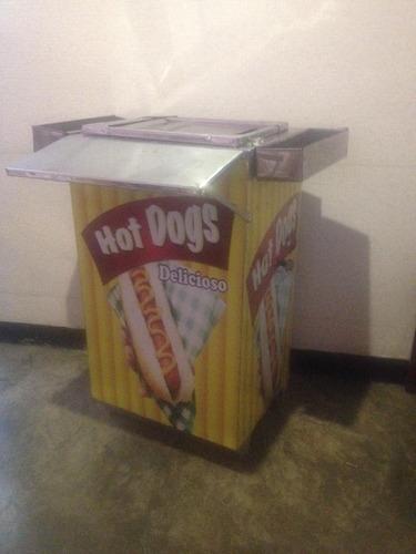 carro de perro calientes fiestero