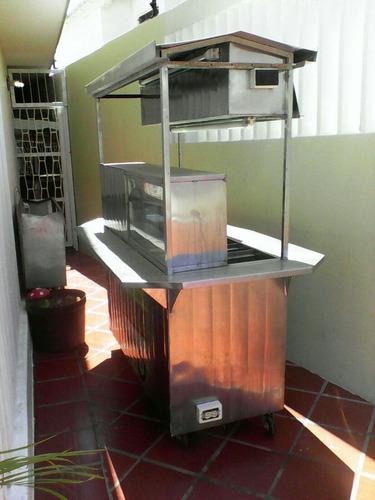 carro de perro calientes/trailers/comida/carro/hamburguesas