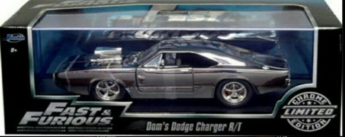 Carro De Rapido Y Furioso Dodge Charger Rt Cromado Lyly