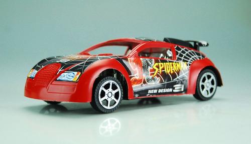 carro de spider man araña rojo venom juguete niño carrito