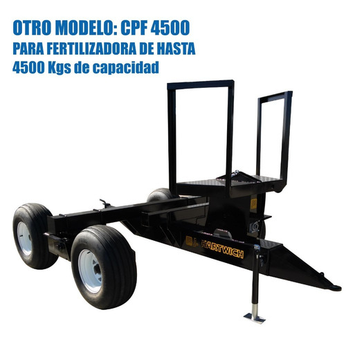 carro de tiro para fertilizadoras hasta 6200kg  j. hartwich