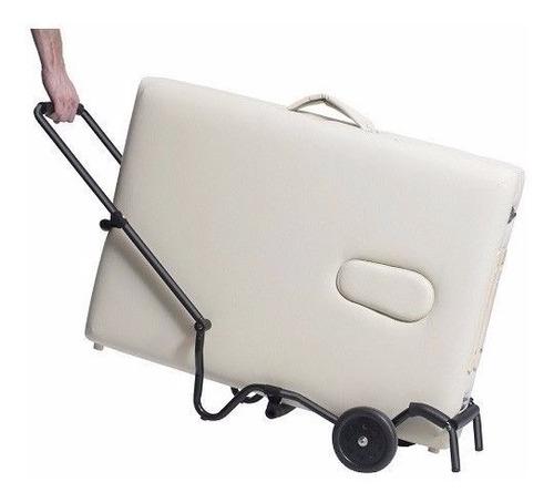 carro de transporte para camilla plegable -  vita store