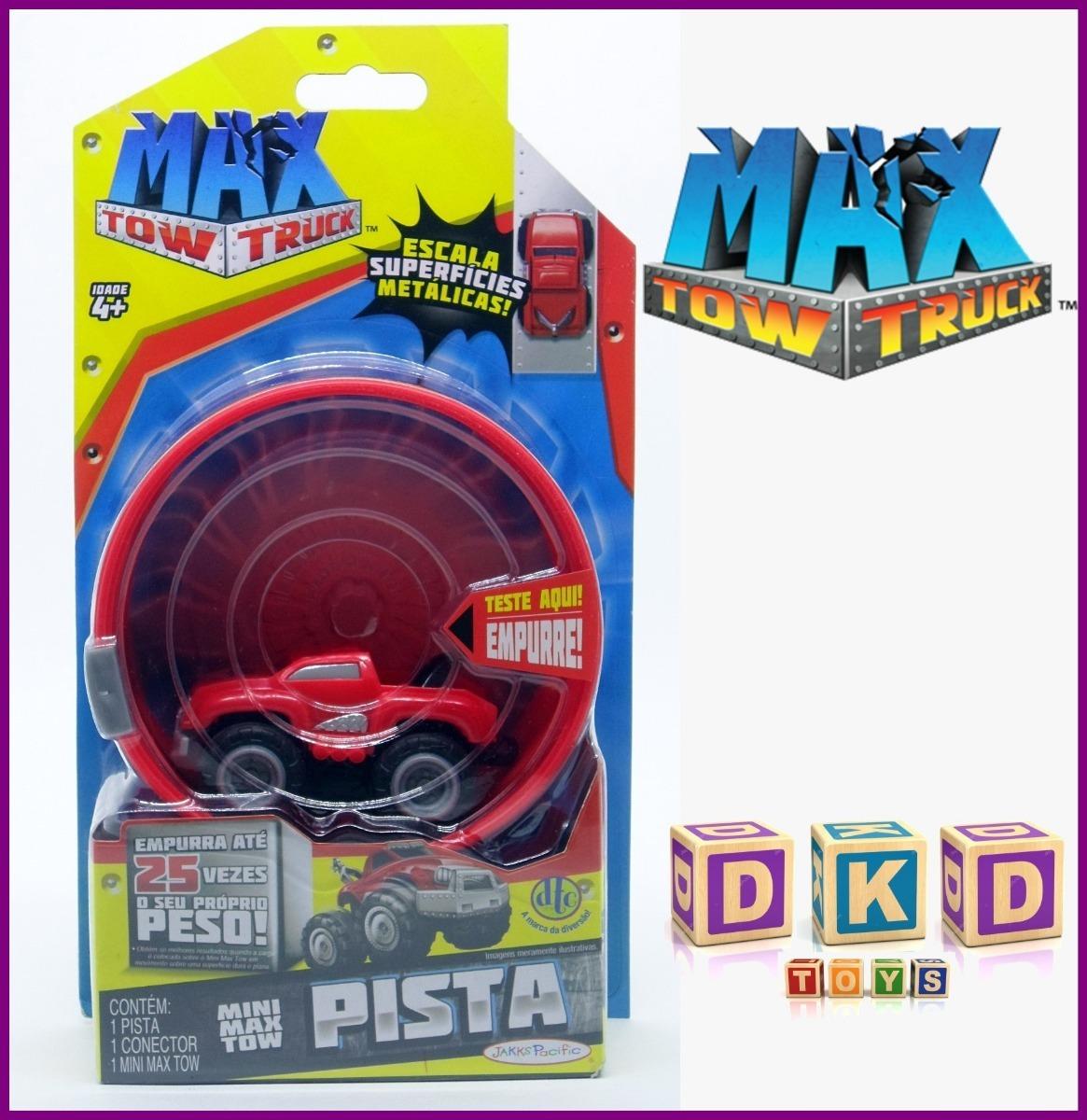 Carro E Pista Mini Max Tow Truck Vermelho Dtc R 2990 Em