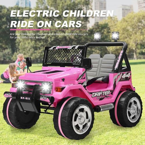 carro eléctrico 12v para niños con control remoto - importad