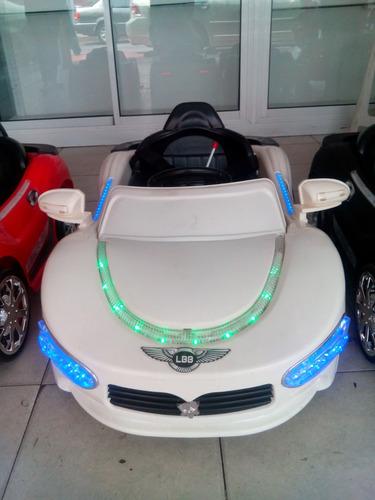 carro electrico bateria recargable, niños o niñas