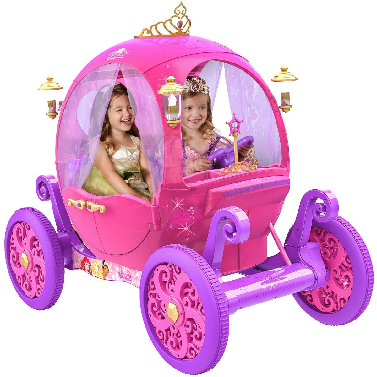 Carro Electrico Disney Princesas Carruaje 15 000 00 En