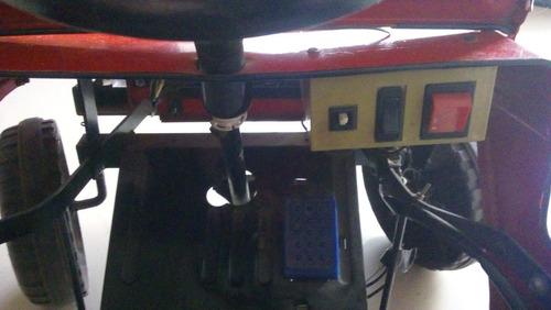 carro electrico metalico jeep cj7 vintage funcionando