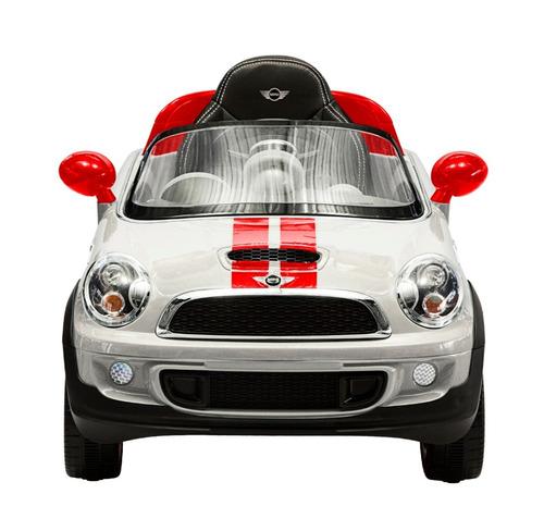 carro eléctrico minicooper blanco prinsel ref: prin1212