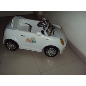 Carro Electrico Montable Control Remoto/mp3 (sin Bateria)