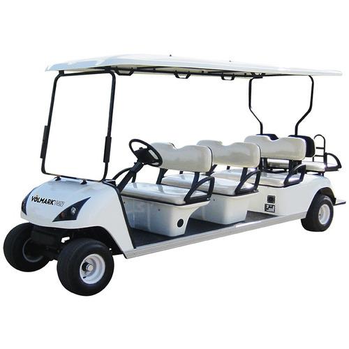 carro eléctrico para 8 personas