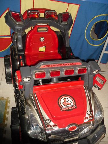 carro eléctrico para niño con control remoto
