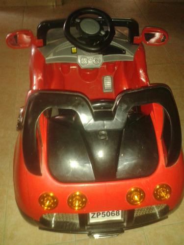 carro electrico para niños. poco uso
