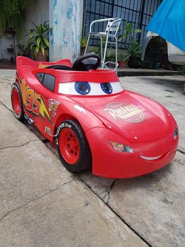 carro electrico rayo mc queen