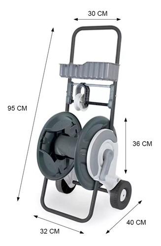 carro enrollador de manguera rehau 1/2 pulgada x 60 m