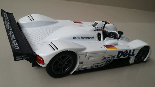 carro  escala 1/18  bmw 24 horas lemans original