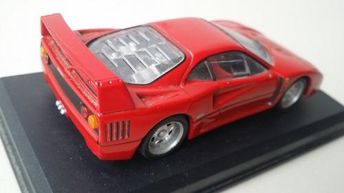 carro  escala 1/18 ferrari gto 1984 hotwheels