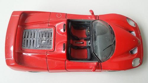 carro  escala 1/18 ferrari scuderia hotwheels