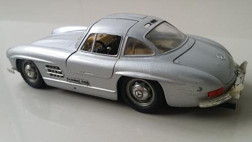 carro  escala 1/18 mercedes benz original coleccionable