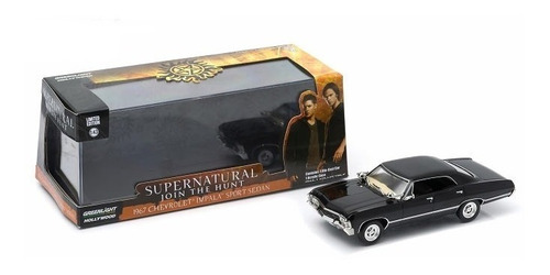 carro escala 1:64 greenlight supernatural  impala 1967