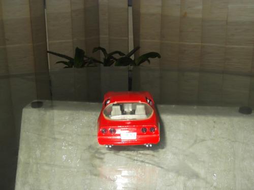 carro escala corvette 1987 majorette escala 1/24 5v