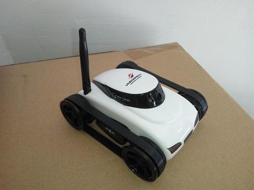 carro espía a control remoto con camara hd incluida