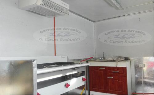 carro food truck para comida rapida