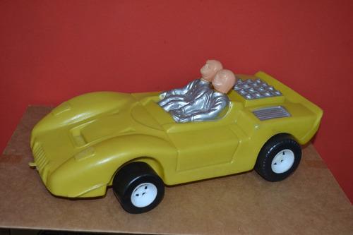 carro ford gt speed de plástico soprado 39 cm comprimento .