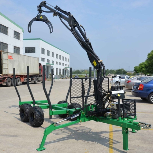 carro forestal con grua pluma 300kg-4m -maquinasagricolas cl