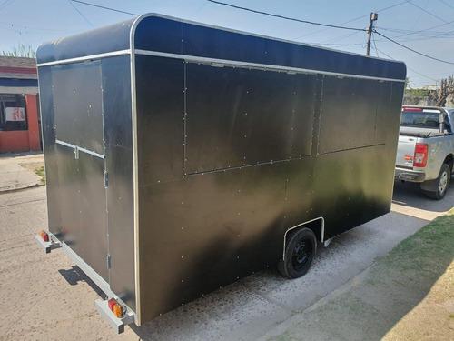 carro gastronómico de 4 metros