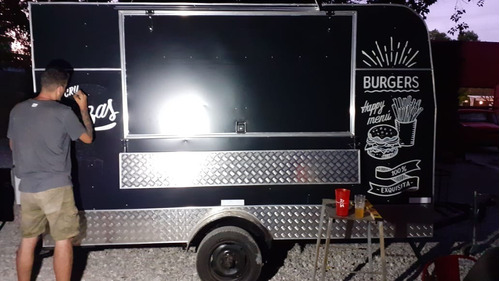 carro gastronómico kaisen 3.50mts. eje externo. food truck